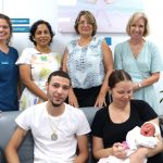 Women's Health Team Celebrates 50th Baby Delivered Under Complete Care Pregnancy Team Approach